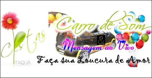 Carro de Som e Telemensagem - Super Banner